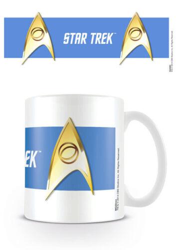 Star Trek Kaffeebecher Mg22983 Geschenk Verpackt Keramik Tasse Sciences Blau