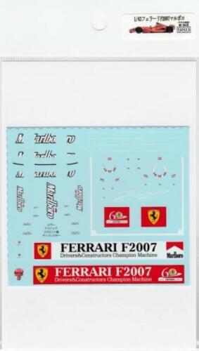 1//43 Ferrari F2007 Marlboro decals Museum Collection