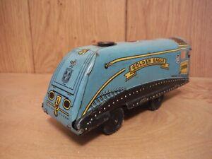 DernièRe Collection De Wells Brimtoy Friction Locomotive Golden Eagle (042) Vente De Fin D'AnnéE