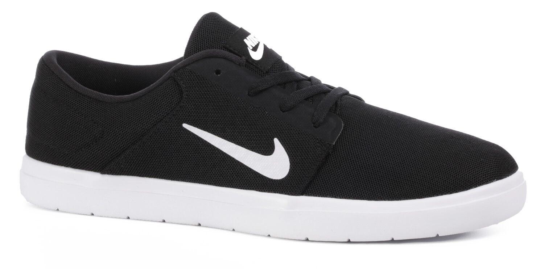 Uomini uomini di nike sb sb nike portmore ultraleggeri scarpe nuove scarpe nere 85 012 80f66e