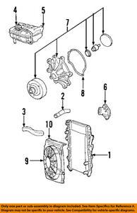 Genuine Chrysler 1370A023 Radiator Hose