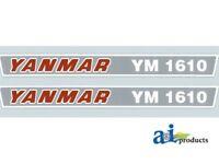 Yanmar Tractor 1610 Hood Decal