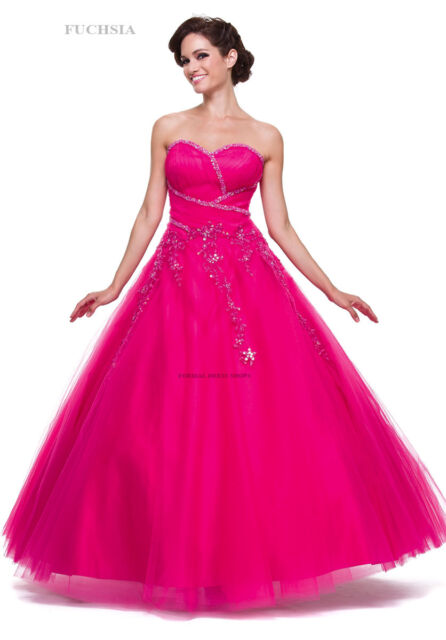 Wedding Debutante Ball Gown Pageant Quinceanera Sweet 16 Cinderella ...