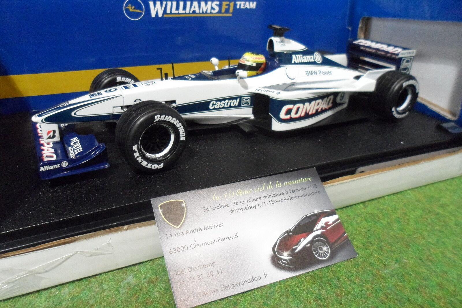 buena reputación F1 F1 F1  WILLIAMS BMW FW22  SCHUMACHER 1 18 HOT WHEELS MATTEL 26735 formule 1 voiture  la calidad primero los consumidores primero