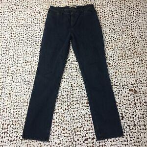 J-Jill-Womens-Jeans-8-Slim-Leg-Tried-and-True-Fit-Blue-Denim-Dark-Wash-Stretch