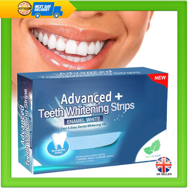 28 Advanced Teeth Whitening Professional White Strips Tooth