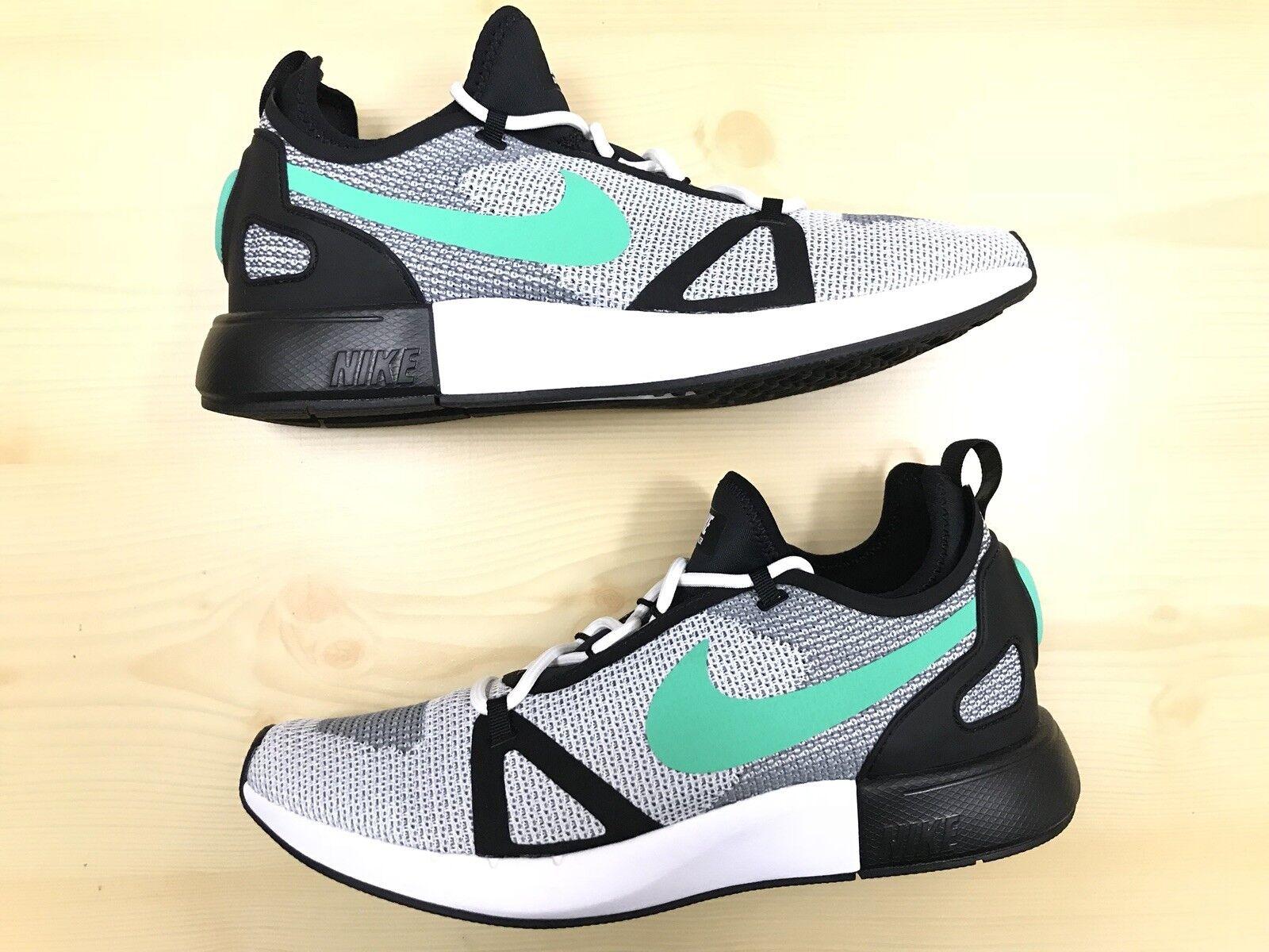 New Nike Mens Duel Racer Run Running shoes 918228-101 Sz 10 white Menta