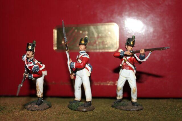 W. Britain Napoleonic 17608, 36002, 36000 British Coldstream Guards Light Co.