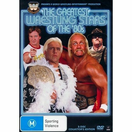 WWE Legends The Greatest Wrestling Stars Of The 80's DVD 2005 3-Disc Region 4