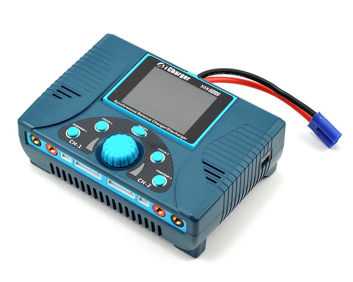 Junsi iCharger 308DUO Lilo Lipo life nimh nicd DC cargador de batería (8S 30A 1300W)