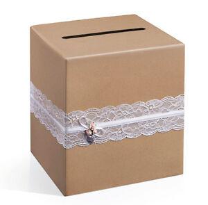 DIY Kartenbox Hochzeit Glückwunschkartenbox Hochzeit Briefbox Geschenkkartenbox