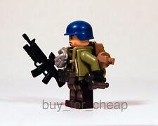 LEGO Custom UN Marine Military Army Soldier Minifigure x1 *NEW*