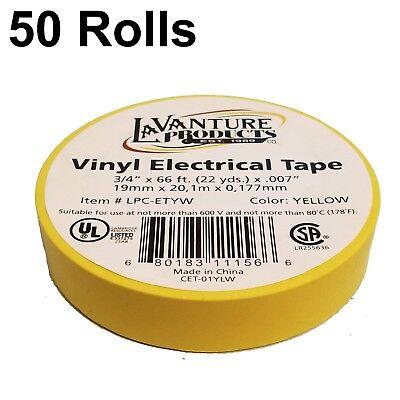 "78 Rolls of Blue Electrical Tape 3//4/"" X 66ft Trailer RV Wires LaVanture"