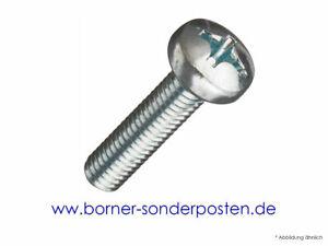 Linsenschrauben-Linsen-Schrauben-H-ISO-7045-4x6-mm-8-8-verzinkt-DIN-7985