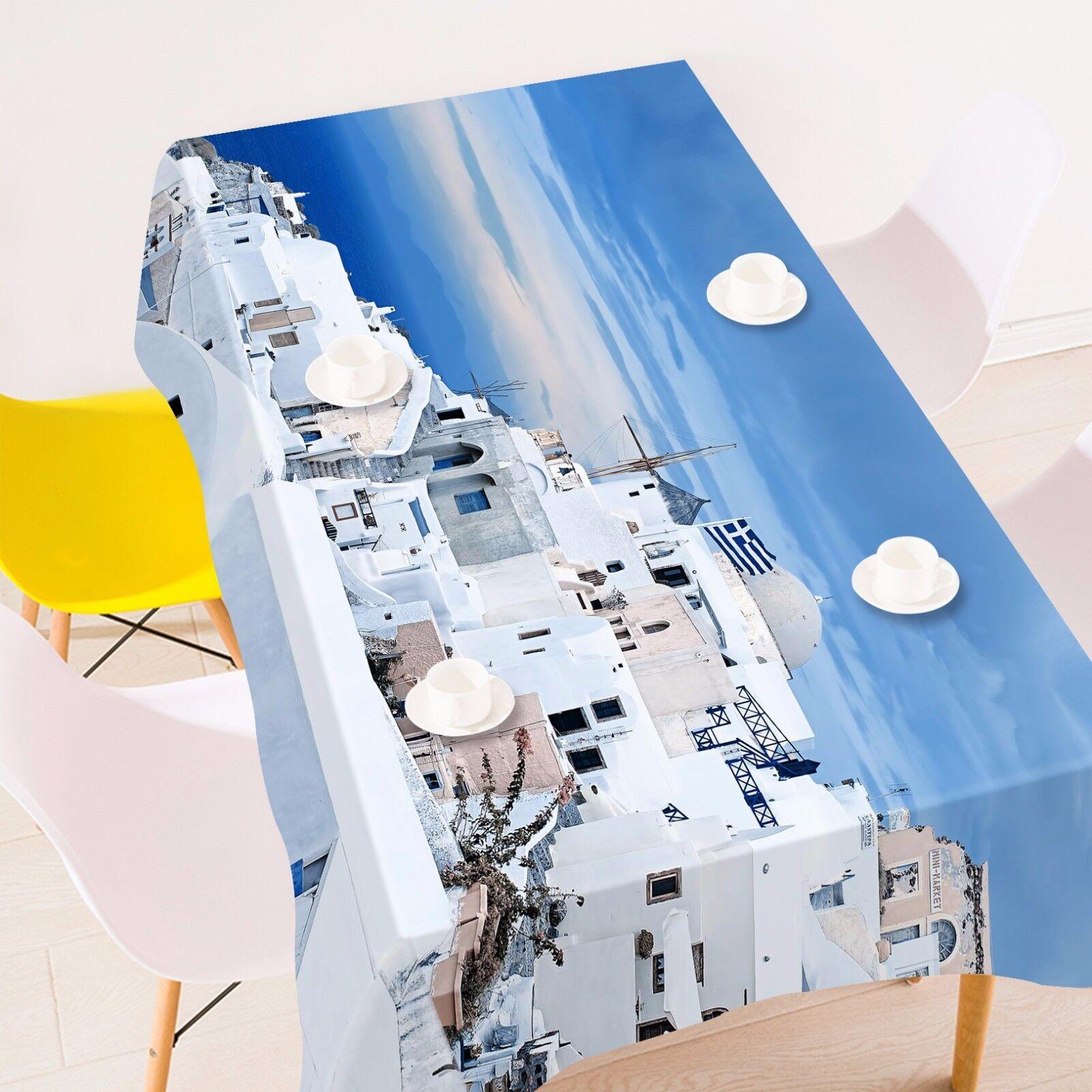 3D Halmet Sky Nappe Table Cover Cloth fête d'anniversaire AJ papier peint Royaume-Uni Citron