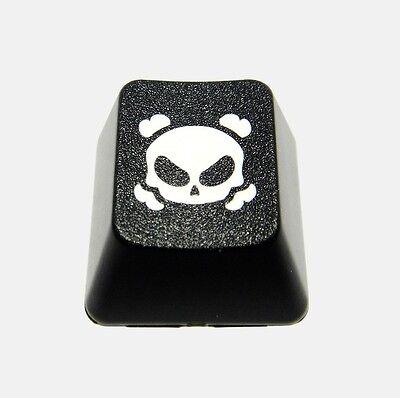 Dark Crossbones Novelty Doubleshot Cherry MX Keycaps / Key cap