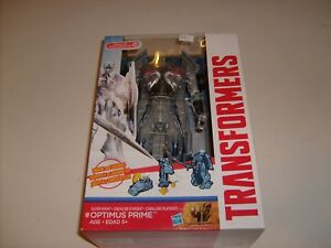 Transformers-Age-Of-Extinction-Platinum-Silver-Knight-Optimus-Prime-Figure-NEW