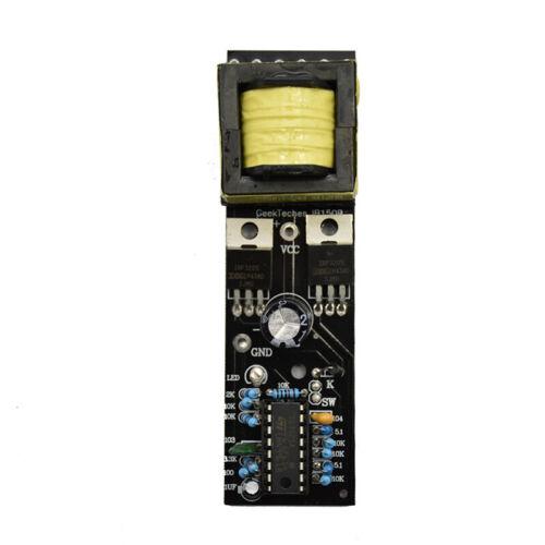 Circuit imprimé l/'onduleur 150W pratique 12V au convertisseur poussée 110V 220V