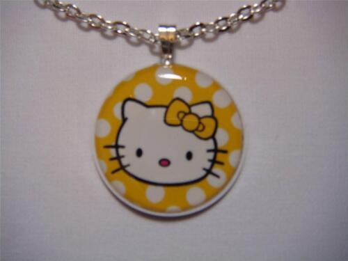 Hello Kitty Face Bezel Necklace 6