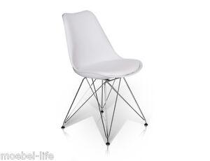 Esstischstuhl Weiß pitu esstischstuhl polsterstuhl esszimmerstuhl stuhl kunststoff weiß