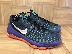 Conquistar popular Boquilla  RARE🔥 Nike KD 8 VIII Black Purple Green Red Joker Vinary Sz 6.5Y  768867-003 | eBay