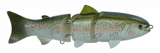 "Pike//Muskie River2Sea 6 3//4/"" 1 5//8oz S-WAVER SW168S//01 Swimbait Lure for Bass N"