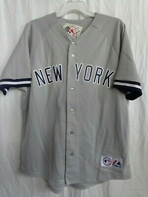 $30 Off SRP NWT Boston Red Sox Adult Majestic Replica Plain Grey Road Jersey