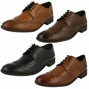 Leather Smart Limit Brogue Ebay Clarks Shoes Up Chart Lace Mens 6qI7t4g
