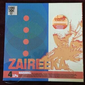 FLAMING LIPS VINYL zaireeka LP x4 DELUXE BOX SET with COLORED VINYL RSD 2013