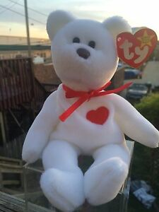 d669ec86b2c Image is loading RARE-Ty-Valentino-Beanie-Baby-With-Errors