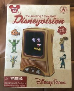 Disney-DisneyVision-3-Dimensional-Animated-Motion-6-Characters-Haunted-Mansion