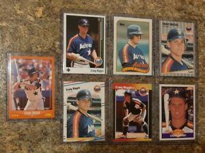 7-Craig-Biggio-1988-1989-Score-Upper-Donruss-Topps-Fleer-Rookie-Card-lot-RC