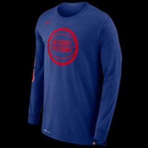 3d96c3a31b40 Nike Men s NBA Detroit Pistons Explode Legacy T-Shirt 873927-495 ...