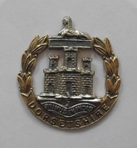 4th. Battalion. THE DORSETSHIRE REGIMENT BRITISH ARMY CAP BADGE