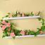 7-7ft-Artificial-Silk-9-Rose-Flower-Vine-Leaf-Garland-Wedding-Party-Home-Decor thumbnail 9