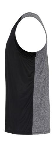 Men/'s Personalised Gym Running Vest Gym Tank Top Custom Printed Tri Dri TR051