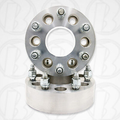 "Two 5 x 135mm To 5 x 5.5/"" 139.7mm Wheel Adapters 2/"" Spacers 1//2 Studs /& Nuts"
