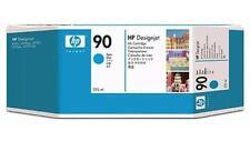 GENUINE HEWLETT PACKARD HP 90 CYAN INK CARTRIDGE 225ML C5060A
