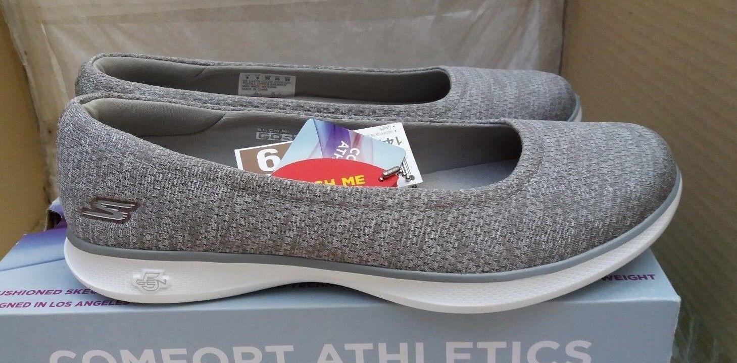 Skechers GO STEP Lite - Evoke - 14479 - Grau - Goga Max™ Technology 5GEN®