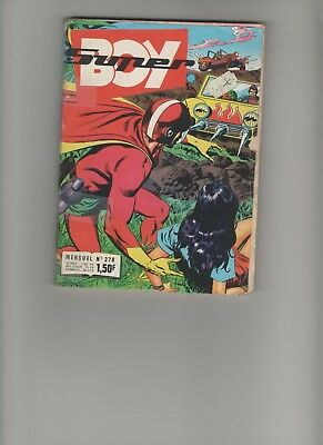 2019 Mode Bd Super Boy N°278 1972 Le Génie Du Mal Edition Imperia