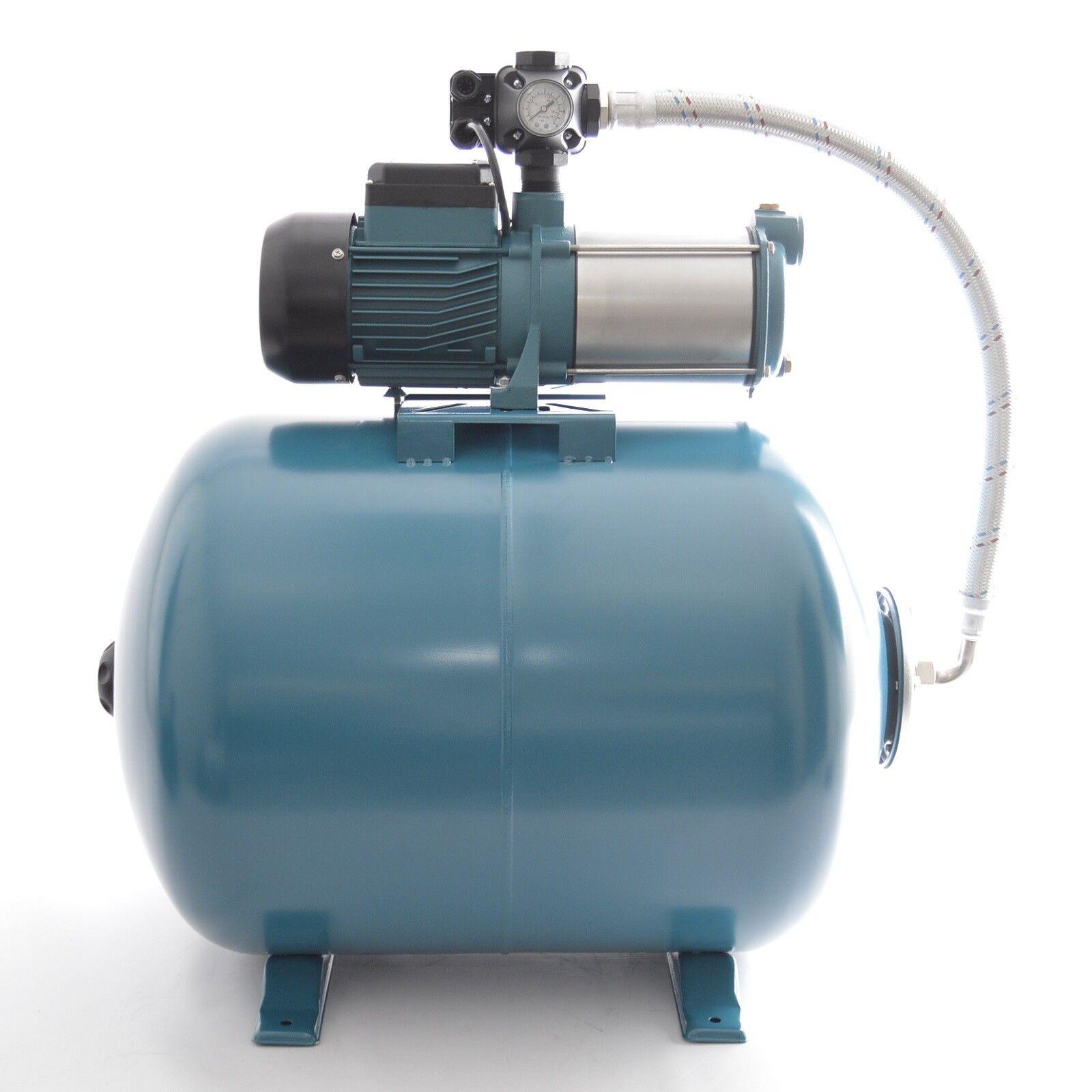 Hauswasserwerk 100 Liter mit Pumpe 1300Watt 5 5bar 6000L min. PC-9