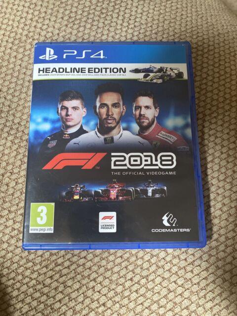 F1 2018 Ps4 Game Formula 1 Headline Edition   Acquisti ...