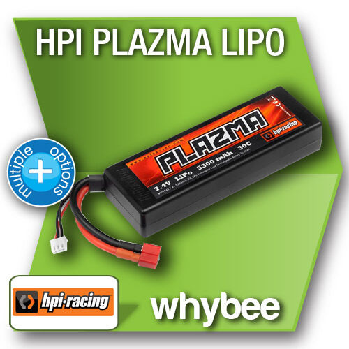 HPI RACING LIPO Li-Po RECHARGEABLE BATTERY 3000 to 8000 mAH 2S 3S 4S 20C to 95C