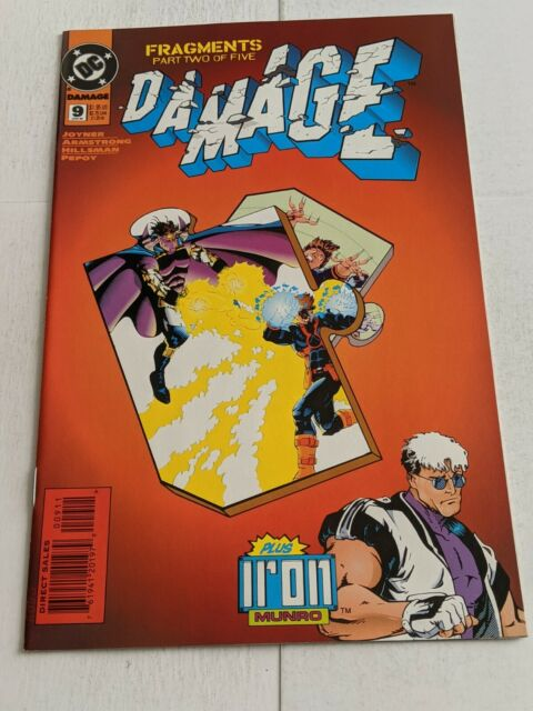 Damage #9 January 1995 DC Comics Joyner Marimon HIllsman
