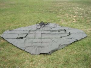 Details about 12999 Army Tent Extendable Modular Personnel Temper Green NEW  8340-01-186-3019