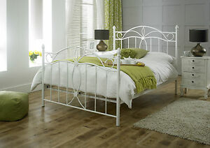 Canterbury Metal Double Bed Frame