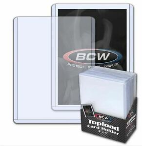 New-Pack-of-25-BCW-3x4-Standard-Toploader-Card-Holders