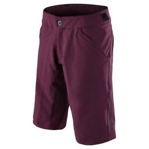 Troy-Lee-Designs-Women-039-s-Mischief-Shorts-Shell-Only-Deep-Fig-Purple-Medium