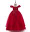Kids-Flower-Girl-Princess-Dress-for-Girls-Party-Wedding-Bridesmaid-Gown-ZG8 thumbnail 12
