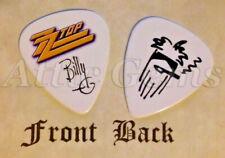 ZZ TOP - BILLY GIBBONS band logo signature guitar pick  -(v)